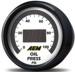 AEM Oil Pressure Display Gauge