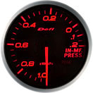 60mm Defi BF Series Intake Pressure Gauge for WRX/STI