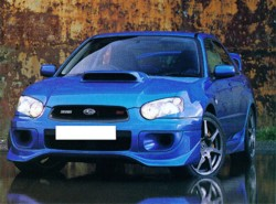 ZeroSports Fr. Lip for 2004- 2005 WRX/STI
