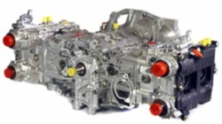Subaru EJ25 (2.5L/STI) w Big Valve Cylinder Heads and KK3766 Camshafts-STD Crankshaft