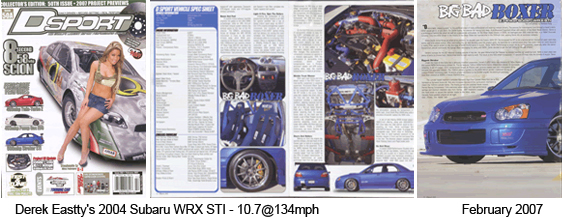DSport Magazine Featured Car February 2007