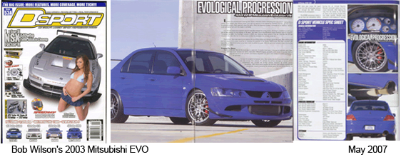 DSport Magazine Featured Car May 2007